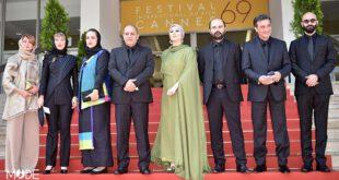 سحر دولتشاهی؛ بالابلند و آراسته در «کن» +تصاویر