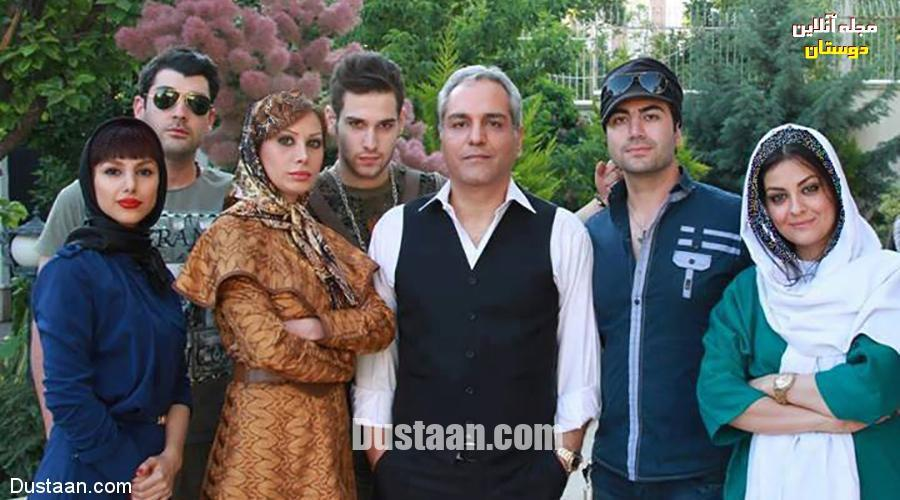 www.dustaan.com مهران مدیری و همسرش +عکس