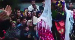صحنه های رقص بازیگران معروف در یک فیلم ایرانی! +ویدیو