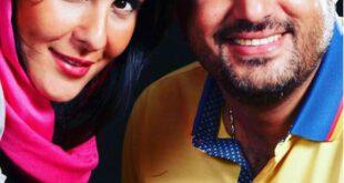 عکس جدید سام درخشانی در کنار همسرش عسل امیرپور