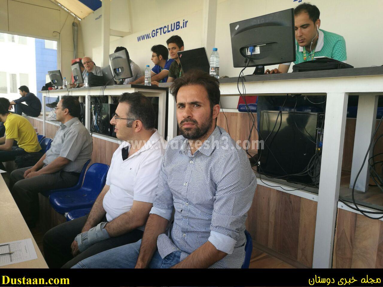 www.dustaan.com نتیجه بازی تیم های گسترش فولاد و پیکان