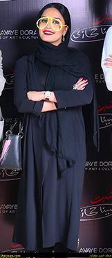 www.dustaan.com تیپ جالب الناز شاکردوست در کنسرت سینا حجازی +عکس