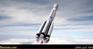 کلیپ دیدنی از لحظه پرتاب موشک تا خروج از جو زمین