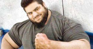 سجاد غریبی, هرکول ایرانی به جنگ داعش رفت! +عکس