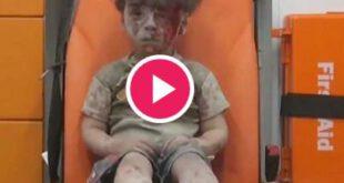 فیلم تاثیر گذار نجات یک کودک سوری در حلب