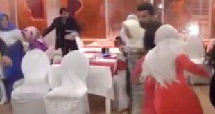 اتش بازی داعشی ها در مراسم عروسی! +فیلم