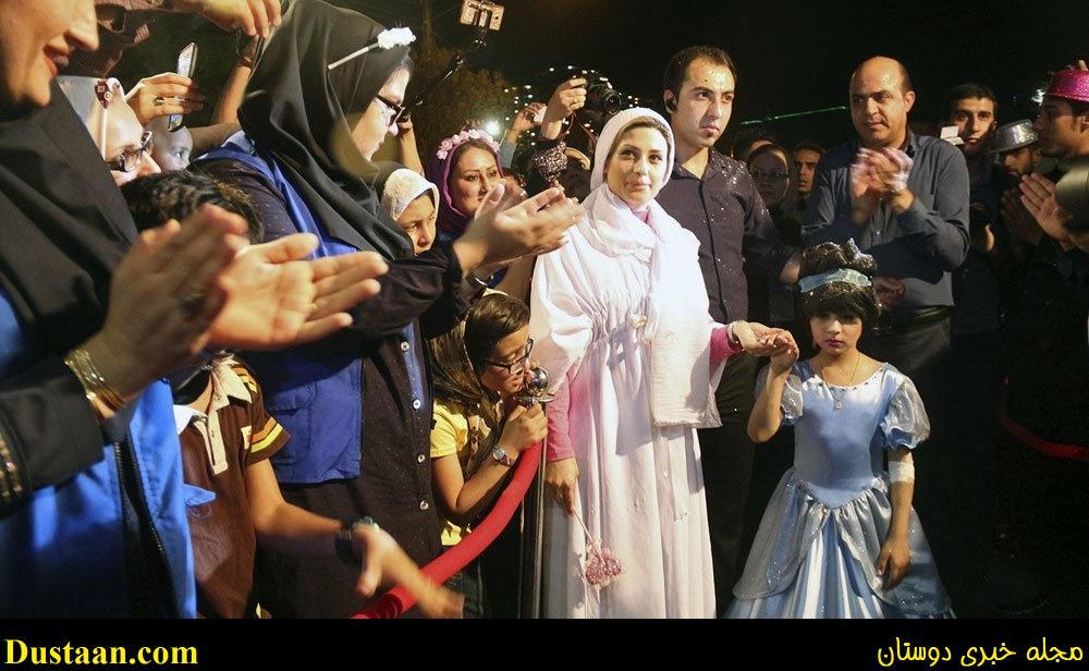 تصاوی: دختر سرطانی در اهواز سیندرلا شد!