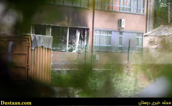 اولین تصاویر از انفجار امروز در بروکسل