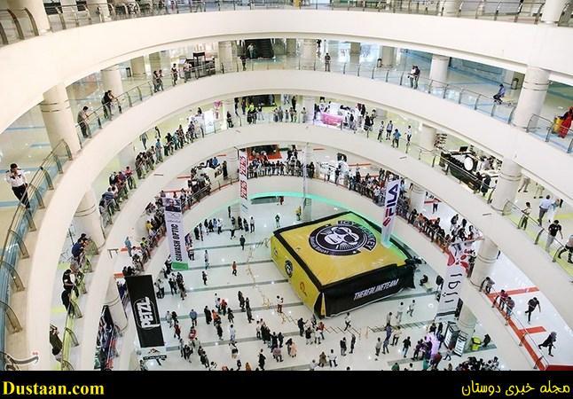 افتتاح اولین تشک پرش آزاد در تهران +تصاویر