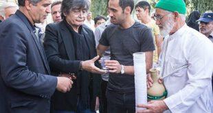 تصاویر: مراسم ختم داوود رشیدی در مسجد بلال صدا و سیما