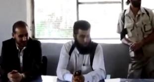 فیلم: انفجار جلسه سران تروریست ها در درعا