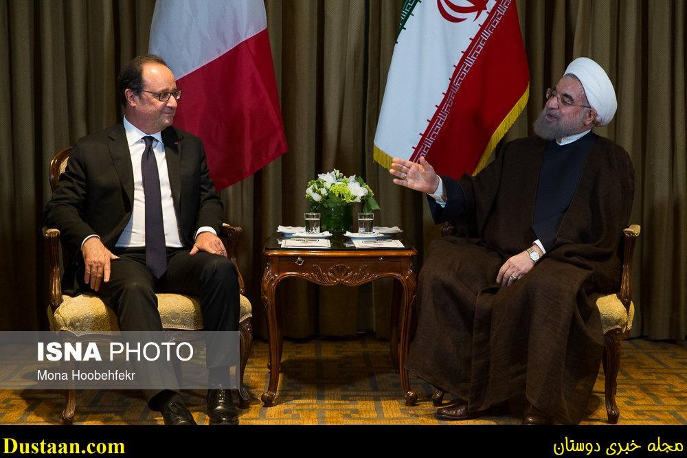 www.dustaan.com تصاویر: دیدار روحانی با اولاند رییس جمهور فرانسه