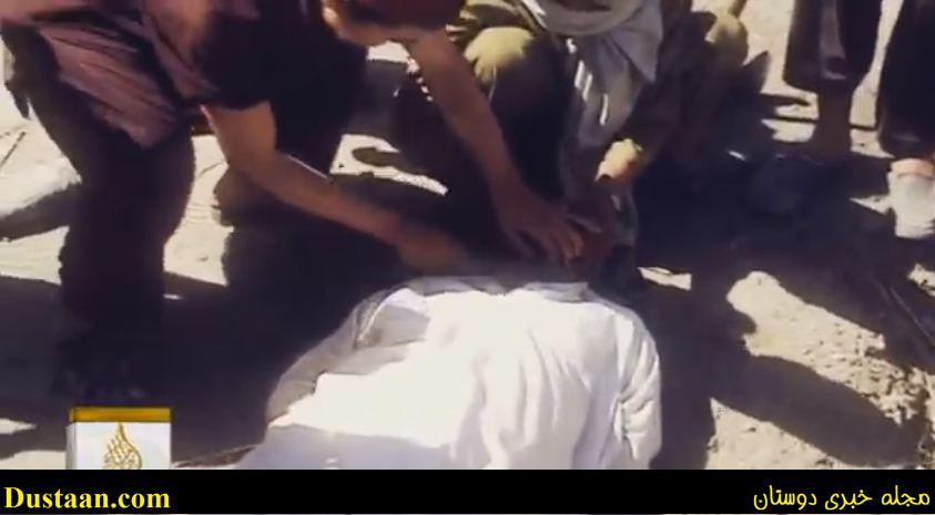 طالبان سربریدن قربانی خود را به تصویر کشید+تصاویر