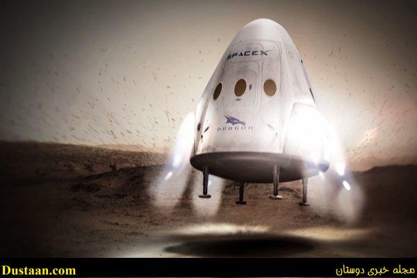 www.dustaan.com سفر به مریخ در ۸۰ روز با فضاپیمای جدید