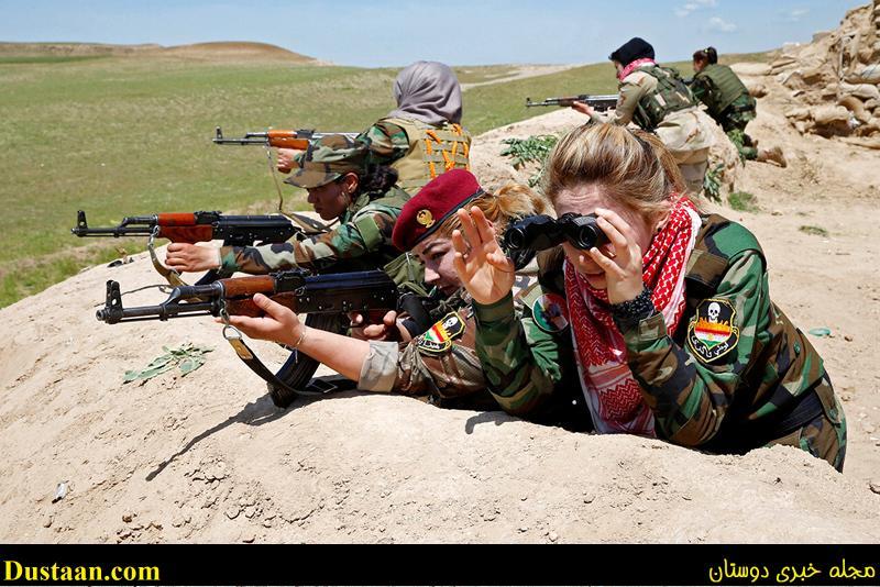 تصاویر: آماده باش نیروهای عراقی برای حمله به داعش