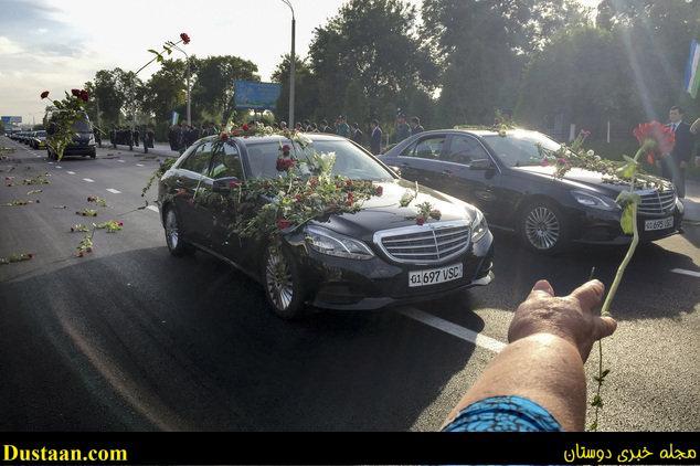www.dustaan.com اسلام کریم اف در کنار والدینش به خاک سپرده شد +تصاویر