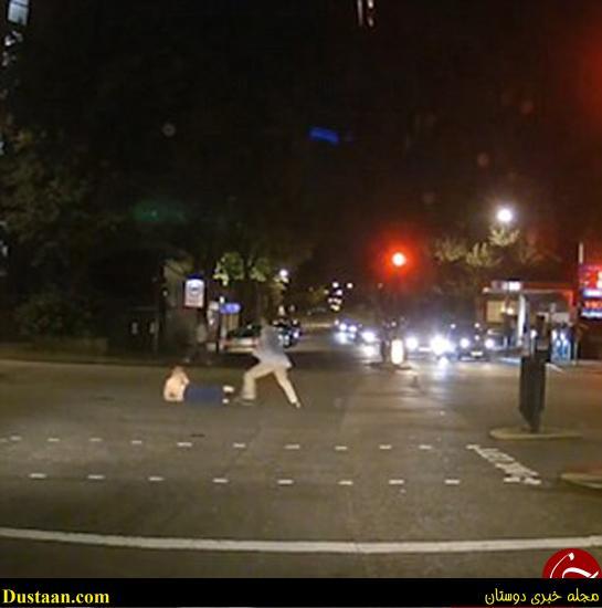 www.dustaan.com تصاویر: کتک خوردن سارق مسلح از زن و شوهر جوان
