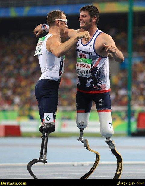 تصویری تحسین برانگیز از پارالمپیک