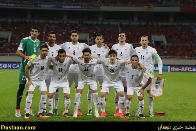 صعود تیم ملی ایران در رده بندی فیفا