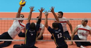 والیبال نشسته ایران و بوسنی