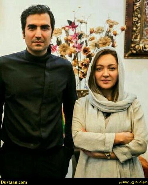 www.dustaan.com عکس: نیکی کریمی در کنار خواننده معروف