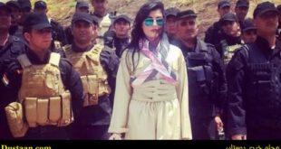 تصاویر: دختر زیبای کرد به جنگ داعش میرود