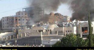 حملات ائتلاف متجاوز سعودی به مراسم عزاداری در صنعا/بیش از صد و پنجاه کشته و زخمی تاکنون