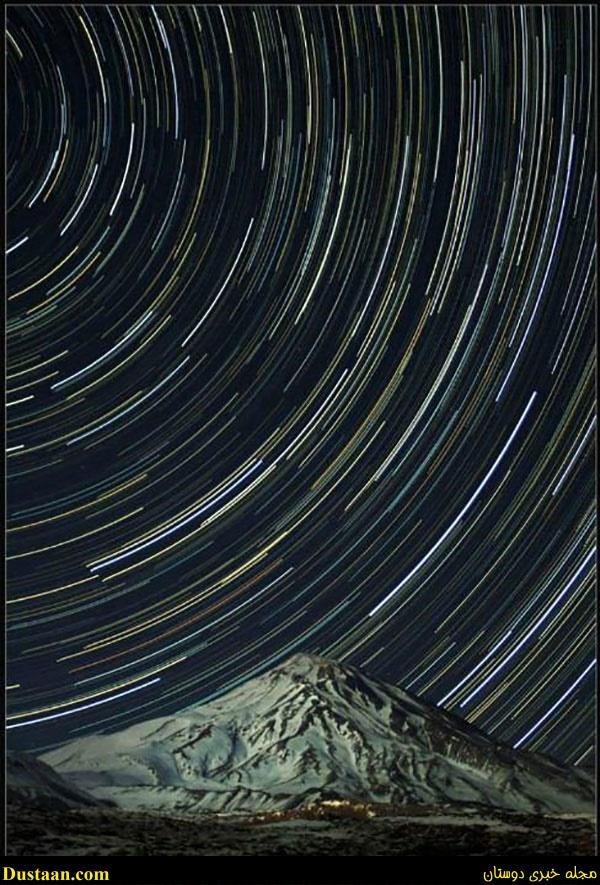 طلوع دباکبر بر فراز کوه دماوند