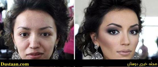www.dustaan.com داماد بعد از دیدن صورت بدون ارایش عروس او را طلاق داد! +عکس