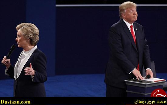 www.dustaan.com عکس: استعفای مجری معروف به خاطر کلینتون و ترامپ!