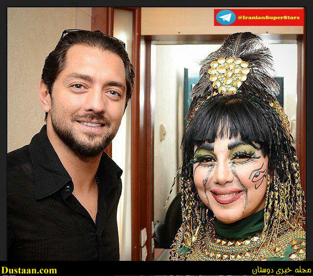 www.dustaan.com عکس: گریم عجیب و متفاوت بهنوش بختیاری!