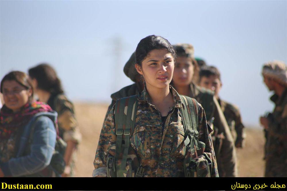 دختر زیبای کانادایی به جنگ داعش رفت +عکس