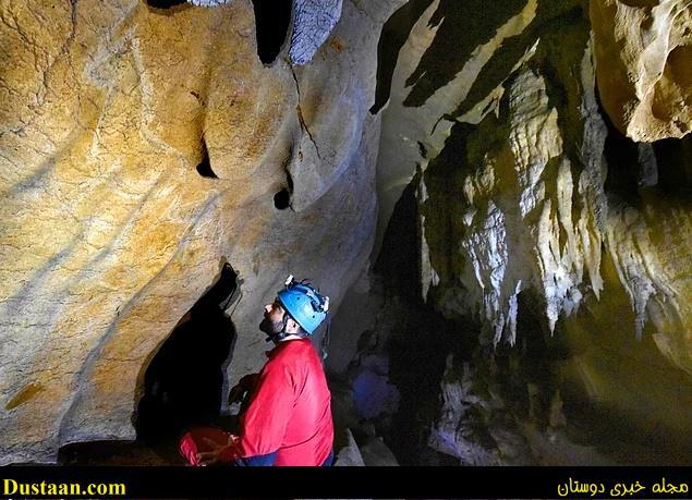 www.dustaan.com تصاویر: کشف یک غار زیبا با نقاشی های ۱۵ هزار ساله!