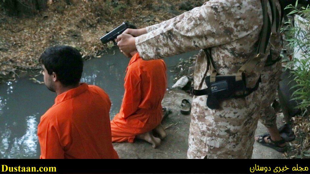 www.dustaan.com رونمایی داعش از دو جلاد خردسال سنگدل +تصاویر