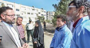 تصاویر: بازسازی صحنه های شوم جنایت در مشهد از سوی عاملان قتل