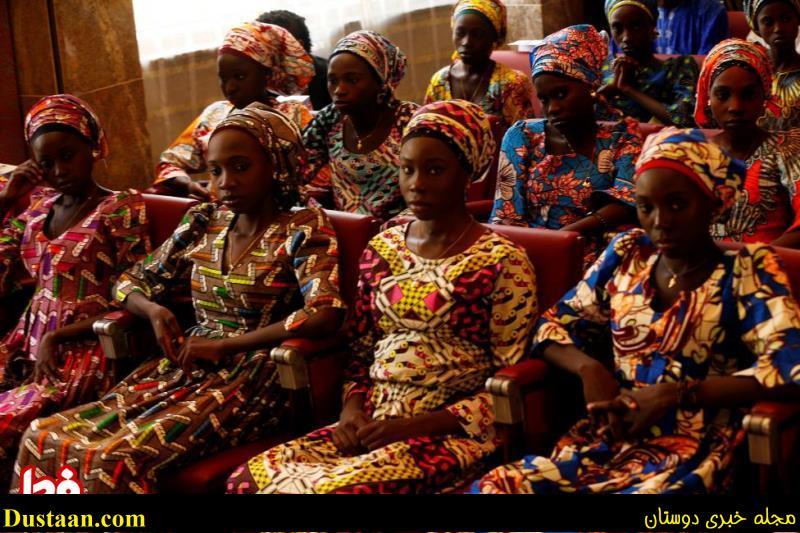 تصاویر: دختران ازاد شده از چنگال بوکوحرام