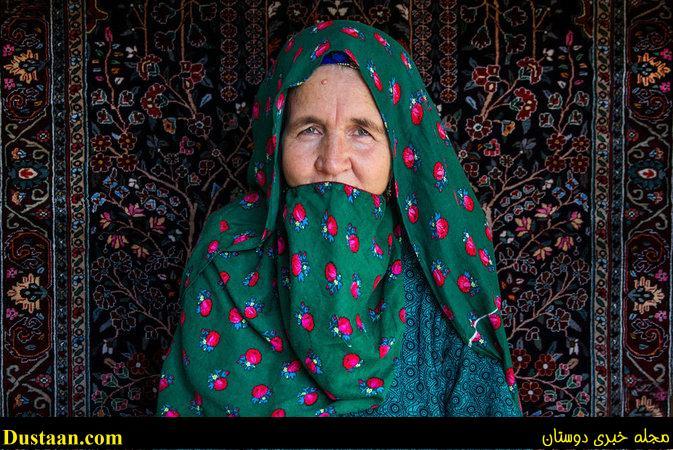 تصاویری از زنان پنجه طلای روستای دویدوخ
