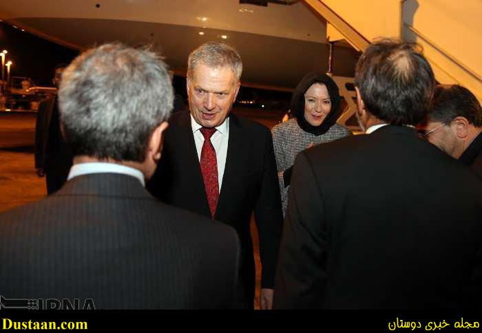 www.dustaan.com عکس: حجاب همسر رییس جمهور فنلاند در تهران