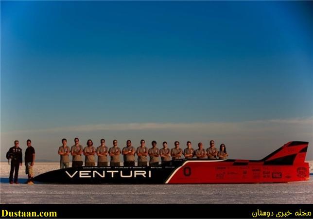 تصاویر: سریعترین خودروی برقی جهان را ببینید