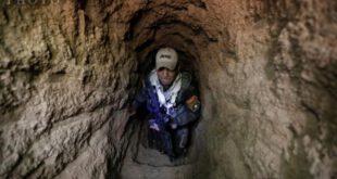 تصاویر: کشف یک دستگاه حفاری بزرگ متعلق به داعش در موصل