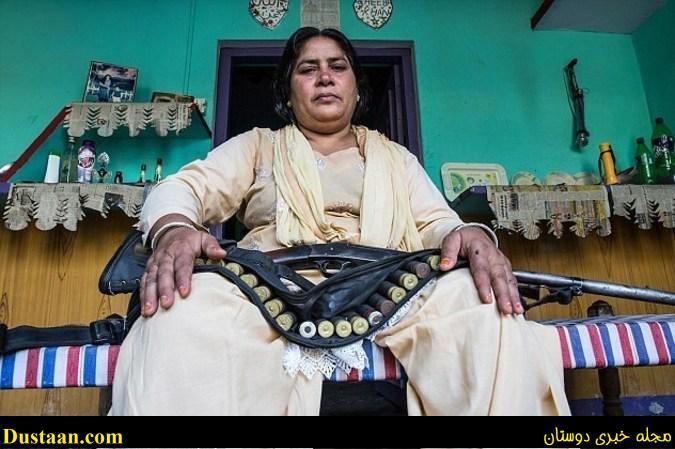 این زن دخل مردان متجاوز را می اورد! +تصاویر