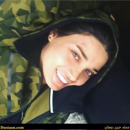 www.dustaan.com چهره واقعی تینا اخوندتبار بدون ارایش! +تصاویر