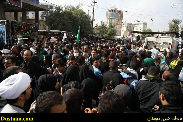 www.dustaan.com تصاویر: حضور ۲۰ میلیون زائر در کربلا