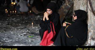 Иракские женщина плачут рядом с местом взрыва в центре Багдаде