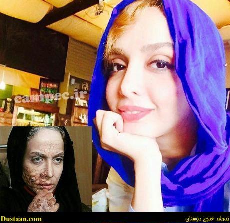 www.dustaan.com چهره واقعی و بدون گریم المیرا دهقانی!