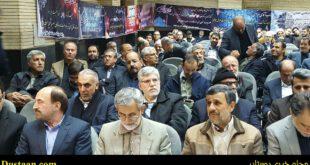 تصاویر: احمدینژاد و کاندیدای احتمالی در مراسم ختم