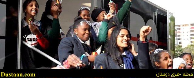 نخستین ماهواره افریقا به دست ۱۴ دختر نوجوان ساخته شد +عکس