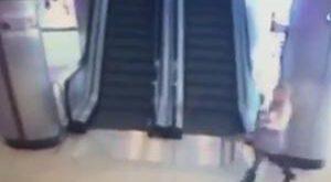 فیلم : خودکشی دختر کم سن و سال داخل پاساژ