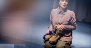 تصویری جالب از هانیه توسلی در نقش همسر یک سرباز آمریکایی
