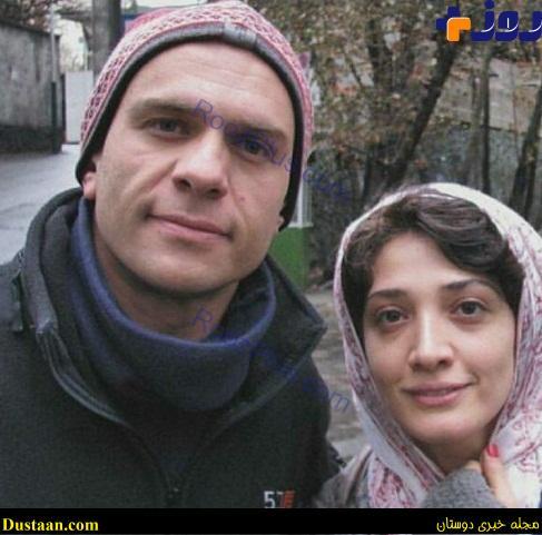 عکس جدید از بابک حمیدیان و همسرش مینا ساداتی